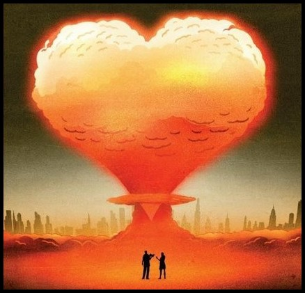 love and nuclear bomb