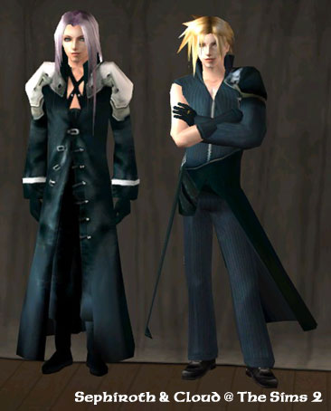 The Sims 2, 模擬市民 2 - Final Fantasy VII